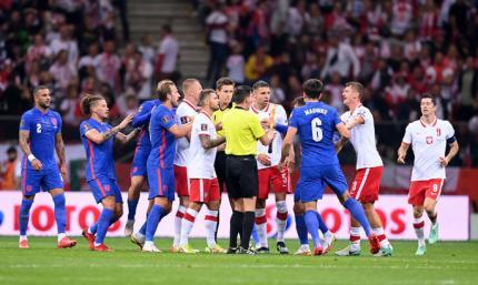 ВИДЕО как Англия упустила победу над Польшей на 90+2-й минуте