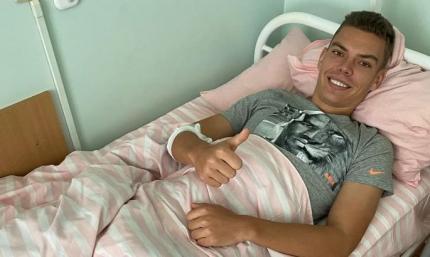 Защитник Мариуполя перенес операцию на лодыжке