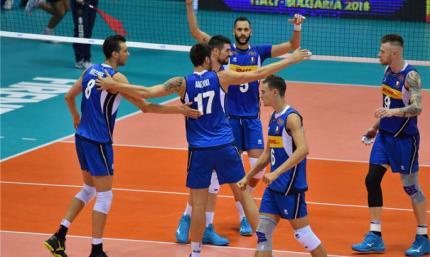 Волейбол. Италия и Словения разыграют звание чемпиона Европы
