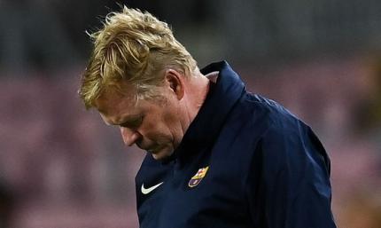 Фаны Барселоны напали на автомобиль Кумана после поражения от Реала - ВИДЕО