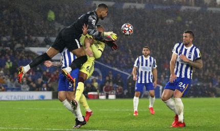 АПЛ. Брайтон - Арсенал 0:0. Суровая погода, суровые чайки