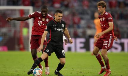 Бавария –Айнтрахт 1:2. Орлы шокировали чемпионов, Роберт снова промолчал