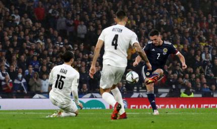 Соломон не помог. Шотландия - Израиль 3:2. Обзор матча и видео голов