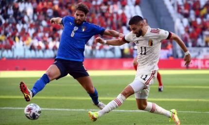 Италия - Бельгия 2:1. Видео голов и обзор поединка