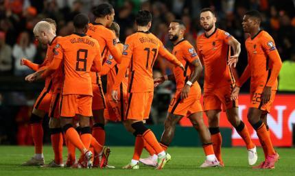 Отбор ЧМ-2022. Шесть голов от Нидерландов, победа Турции на 90+9 минуте