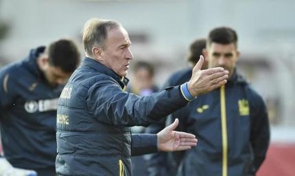 Павелко: Футболисты готовы биться за Петракова и выкладываться на поле на 100%