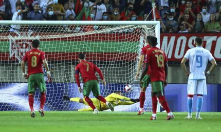 Португалия - Люксембург 5:0. Два пенальти за 10 минут и хет-трик от Роналду