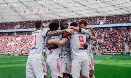Байер –Бавария 1:5. Мюнхен унижает претендента