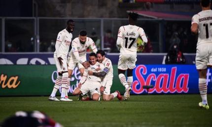 Дубль Ибрагимовича с его же автоголом. Болонья - Милан 2:4. Видео голов и обзор матча