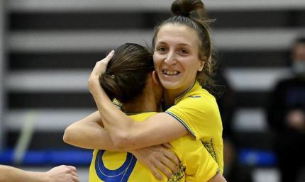 Женская сборная Украины во второй раз подряд вышла в финальную часть Евро