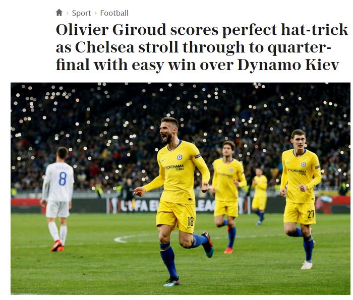 Челси почти не вспотел. Обзор британских СМИ после матча Динамо - Челси - изображение 1