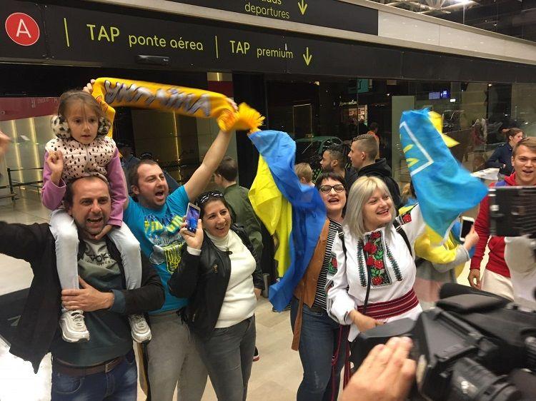 Сборная Украины прибыла в Португалию - изображение 2