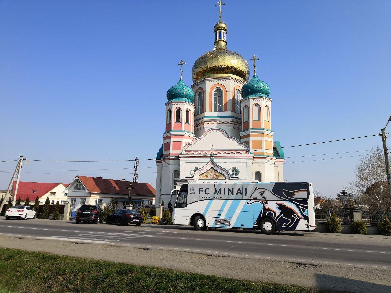 По заветам Кополовца. Перед выездом на матч с Буковиной ФК Минай посетил церковь - изображение 2