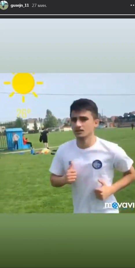 Гусейн Джафаров, который не подошел Динамо, находится на просмотре в Олимпике - изображение 1