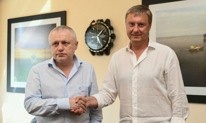 Хацкевич заявил, что не стал бы продлевать контракт, если бы Суркис четко поставил задачу