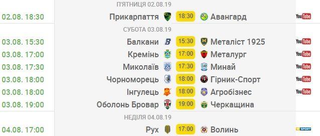Первая лига. Битва новичков и первый домашний матч львовского Руха - превью 2-го тура - изображение 1