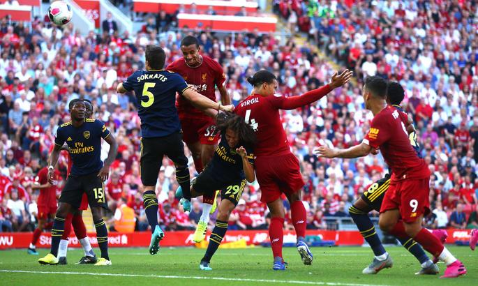 Ливерпуль - Арсенал 3:1. В лучших традициях дуэлей мерсисайдцев и лондонцев