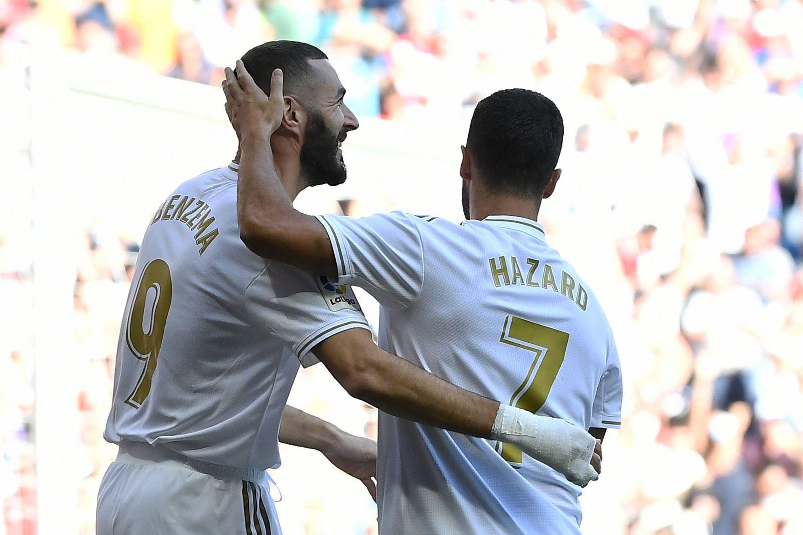 Азар забил дебютный гол за Реал в матче с Гранадой - изображение 1