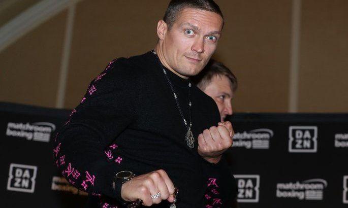 Усик - Уизерспун. Где смотреть онлайн дебют украинца в супертяжелом весе