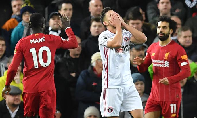 Ливерпуль - Шеффилд Юнайтед 2:0. Победа имени Салаха и Мане
