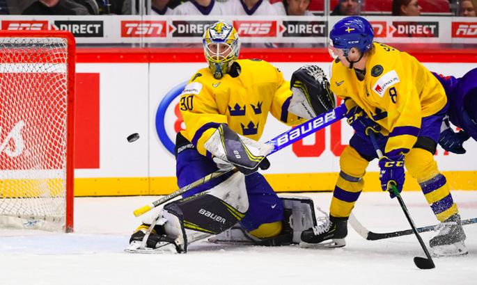 Швеция побеждает Финляндию в матче за третье место на Чемпионате мира U-20