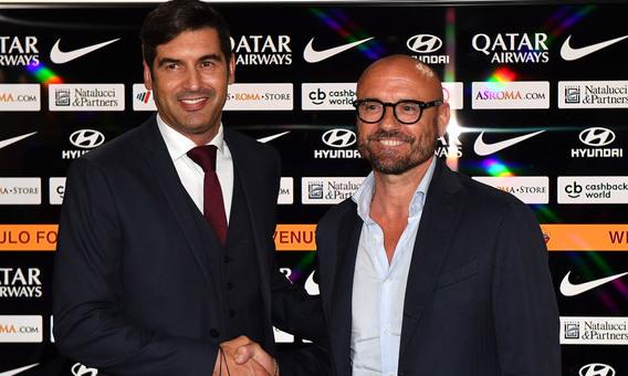 Спортивный директор Ромы: Фонсека - идеальный тренер в моем понимании