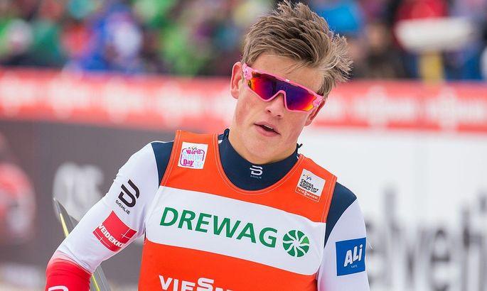 Лыжные гонки. Клебо победил в спринте классическим стилем на Тур де Ски