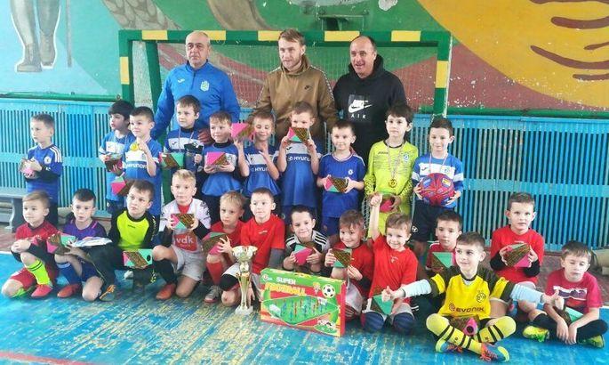 Роман Безус вместе с отцом организовал детский турнир в Кременчуге