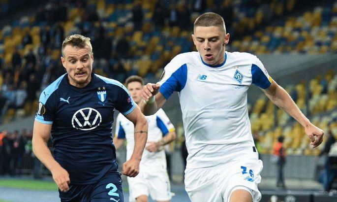 Миколенко – четвертый самый дорогой левый защитник до 21 года по версии Transfermarkt