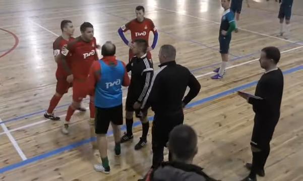 Тарас Михалик устроил драку на любительском футзальном турнире