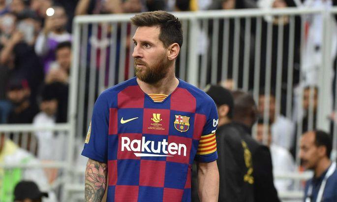 Барселону оштрафуют за жест Месси
