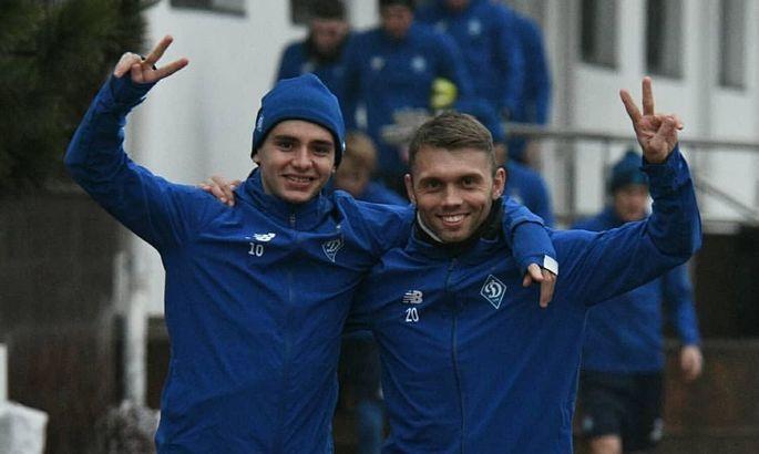 Динамо провело первую тренировку в 2020 году