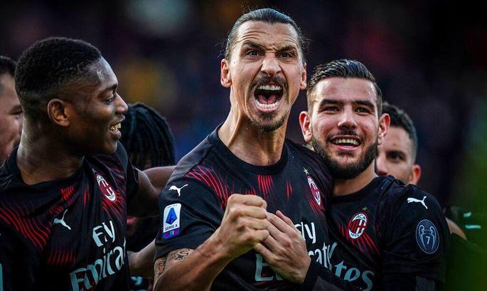 Ибрагимович признан лучшим игроком Серии А в октябре