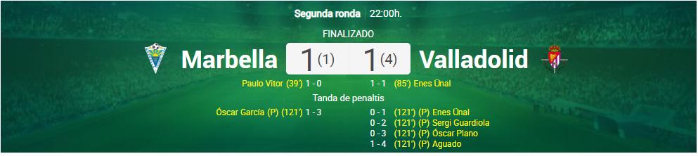 Лунин блестяще выиграл серию пенальти и вывел Вальядолид в следующий раунд Кубка - изображение 2