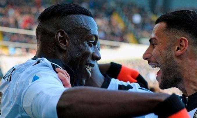 Серия А. Удинезе сравнивается с Наполи и почти догоняет Милан