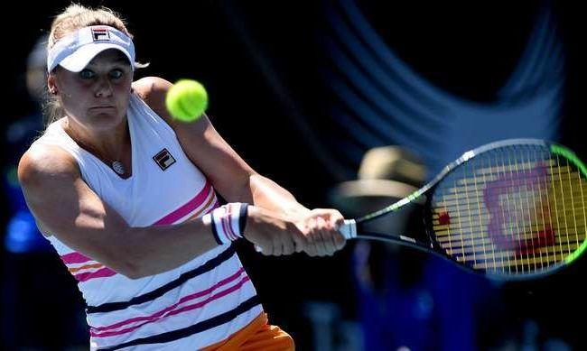 Козлова выиграла третий матч подряд в Хобарте