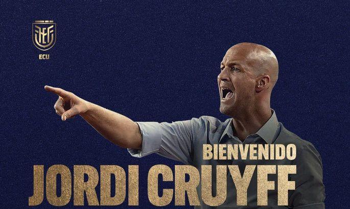Официально: Йорди Кройф – главный тренер сборной Эквадора