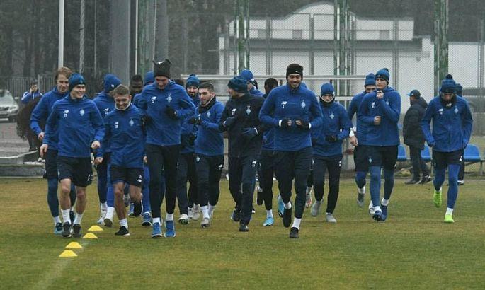 Известны даты и время начала матчей Динамо на первом тренировочном сборе