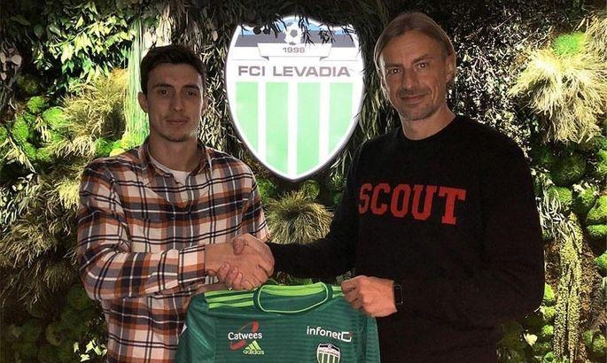 Очігава підписав контракт з естонською Левадією