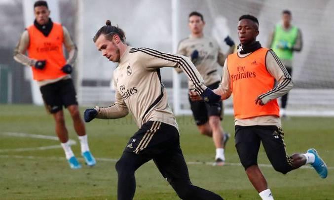 Бэйл вернулся в общую группу Реала, Рамос и Йович занимаются индивидуально