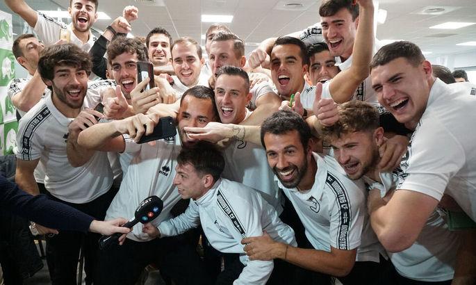РЕАЛьне здивування: гравці клубу Сегунди дізналися, що зіграють в Кубку з мадридцями та збожеволіли