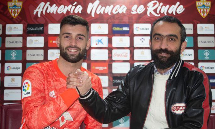 Альмерія оголосила про перехід воротаря Алавеса