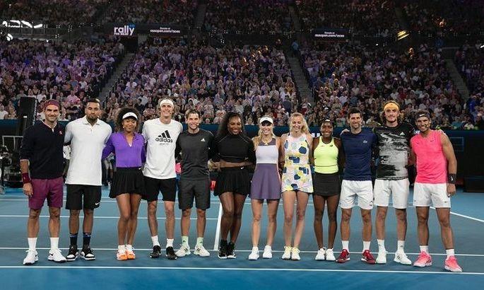 Теннисисты собрали $4,8 миллиона на борьбу с лесными пожарами в Австралии