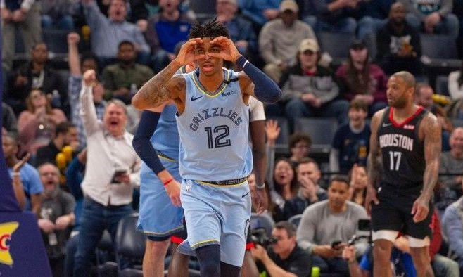 Эффектная комбинация Мемфиса – момент дня в НБА. ВИДЕО
