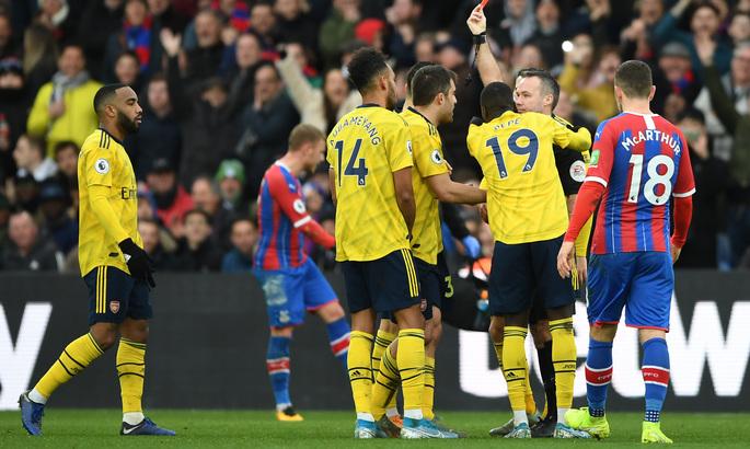 Апелляция Арсенала была отклонена - лучший бомбардир команды пропустит три матча