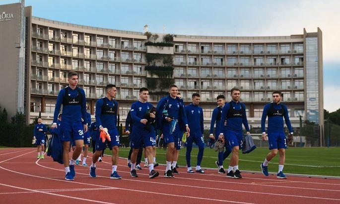 Динамо провело первую тренировку в Турции. ФОТО