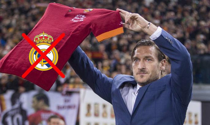 """""""Ти божевільний – відмовився перейти в найкращу команду світу"""". Тотті – про те, чому не переїхав до Мадрида"""