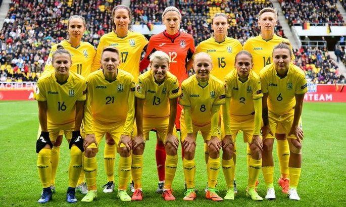 Не менее 10 матчей: известны планы женской сборной Украины на 2020 год