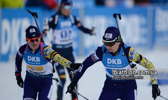 Антхольц. Эстафета. Украина - бронзовый призер Чемпионата мира, победу одерживают норвежки