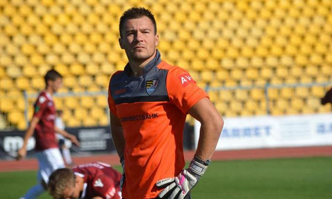 Воротар Ужгорода перебрався в словацький клуб четвертого дивізіону